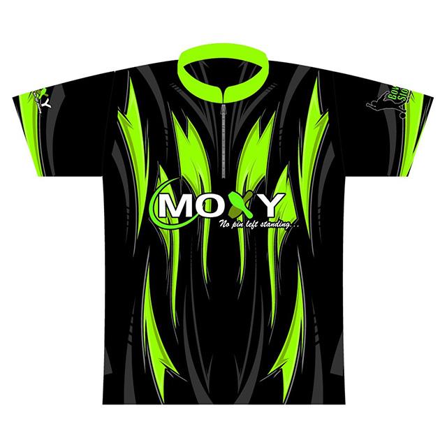 Moxy Dye-Sublimated Jersey- Green/Black