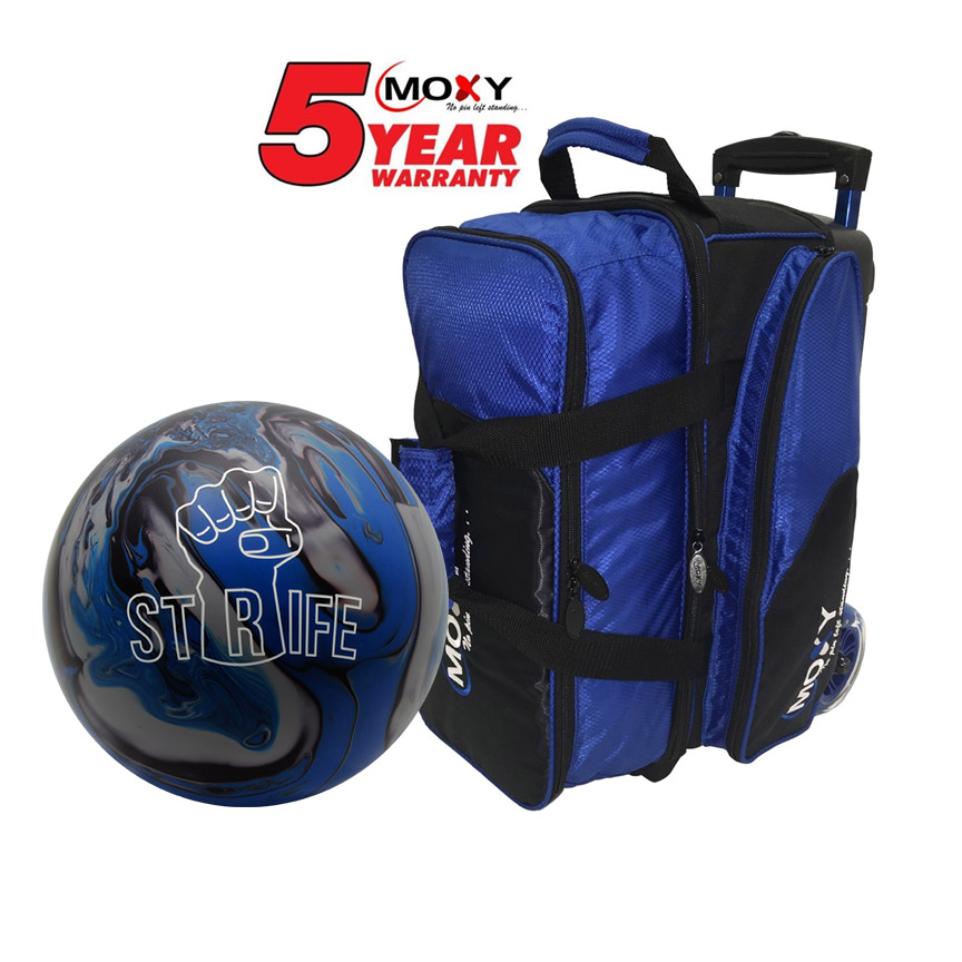 Moxy Strife Ball and Blade Premium Double Roller Bag – Moxy Bowling 04e143cbb7