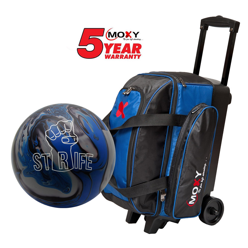 Moxy Strife Ball And Double Roller Bag
