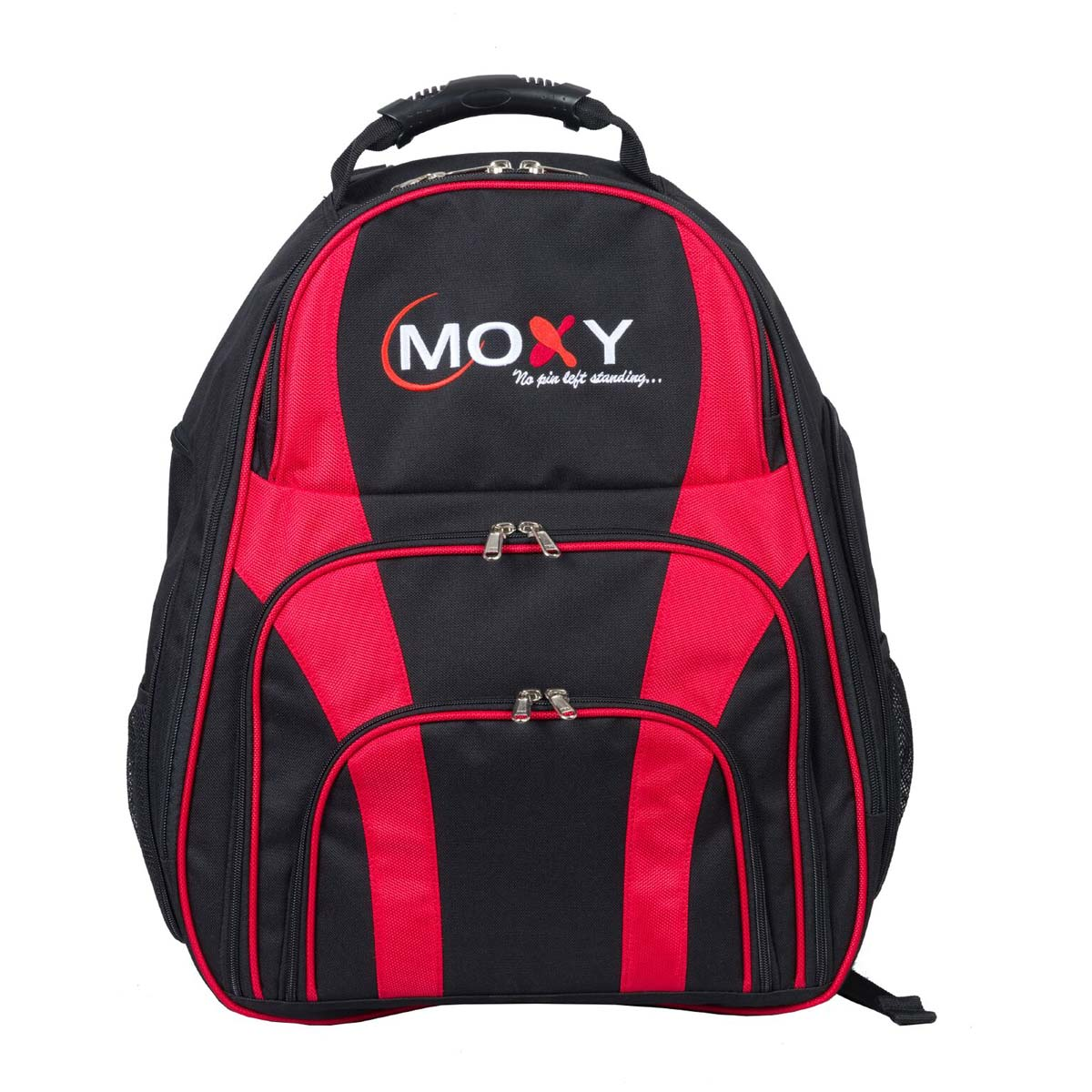 Moxy Duo Backpack Bowling Bag - Black/Red